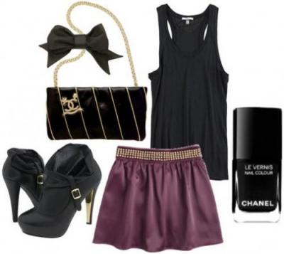 Y Chanel Outfit