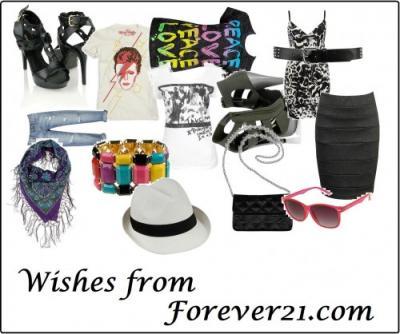 Deseos de Forever 21