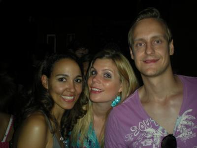 Mi amiga Carol en concierto