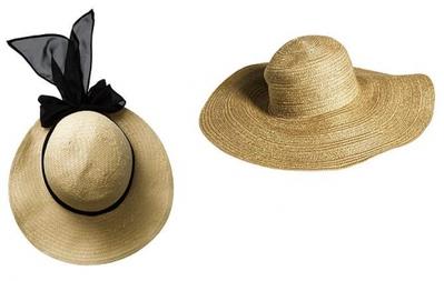 Sombrero para la playa